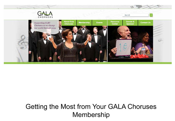 Getting the Most from Your GALA Membership