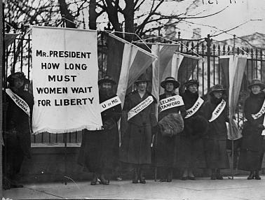 Suffrage Picket Line
